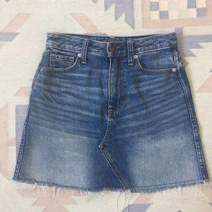 Abercrombie Denim Miniskirt
